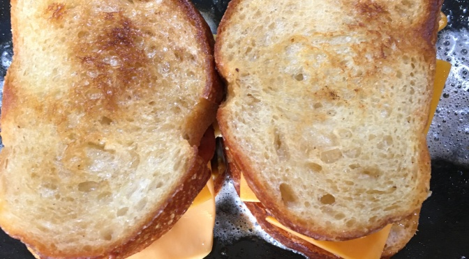 GRILLED CHEESE (BOUJEE STYLE)