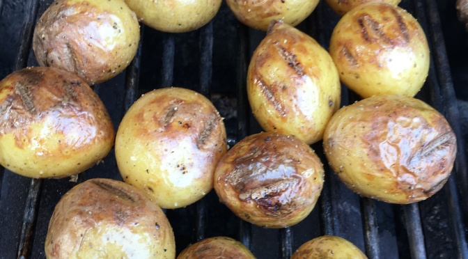 GRILLED POTATATOES