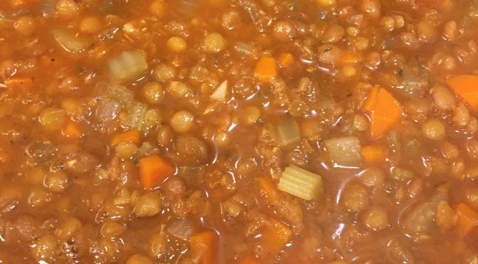 Lentil Soup (beef)